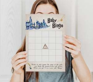 Harry Potter Baby Bingo Game | Harry Potter Game Printable