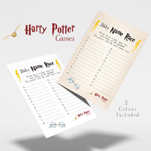 Load image into Gallery viewer, Baby Name Race | Harry Potter Game Printable