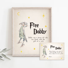 Load image into Gallery viewer, Free Dobby Baby Shower Game | Harry Potter Game Printable