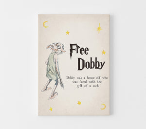 Free Dobby Baby Shower Game | Harry Potter Game Printable