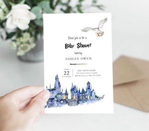Harry Potter Baby Shower Kit | Editable Text