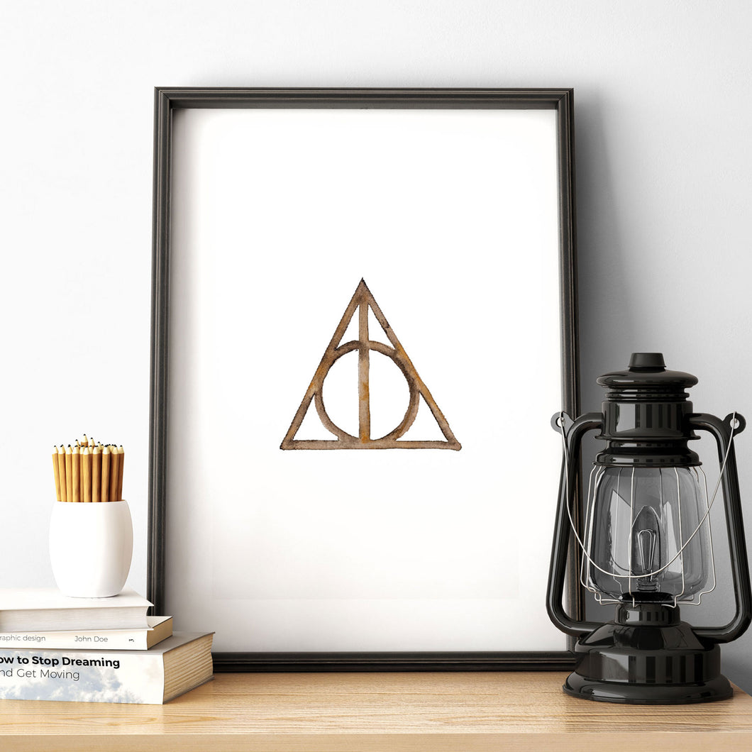 Harry Potter Deathly Hallows Poster Printable