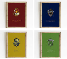 Load image into Gallery viewer, hogwarts houses signs