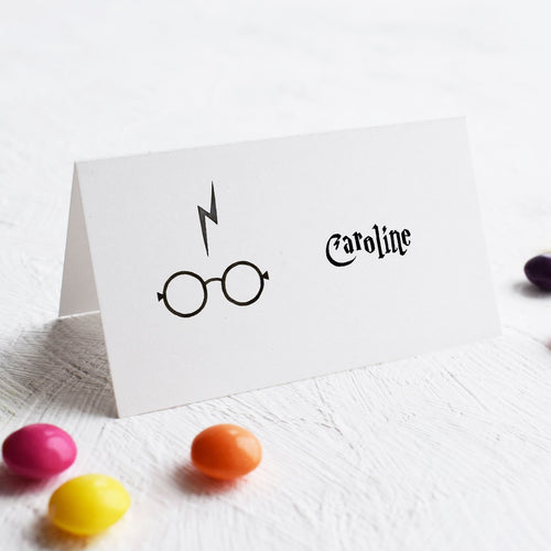 potter place cards