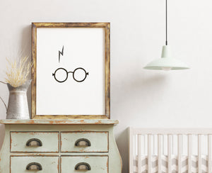 Harry Potter Scar Poster Printable