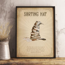 Load image into Gallery viewer, Sorting Hat poster