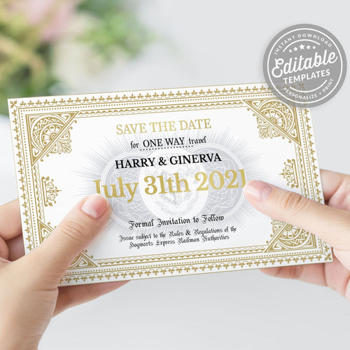 hogwarts train ticket printable