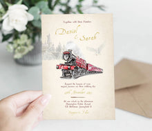 Load image into Gallery viewer, wizard wedding invitation