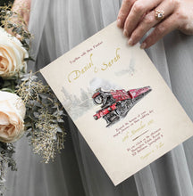 Load image into Gallery viewer, Harry Potter Wedding Invitation