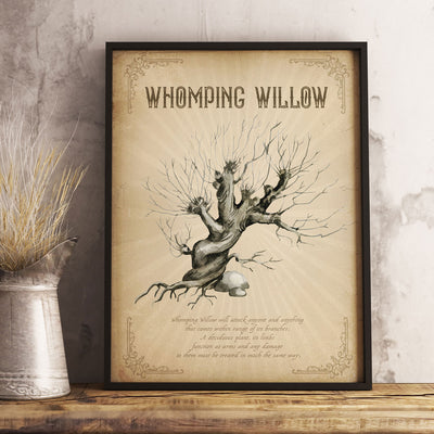 Whomping Willow poster