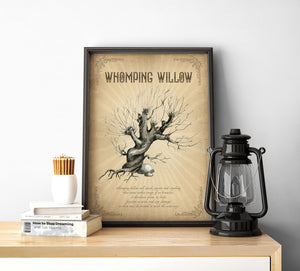 Whomping Willow sign