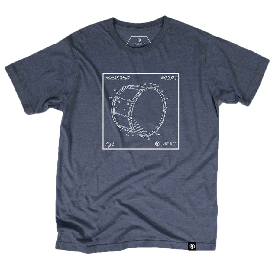 Bass Drum Blueprint Tee