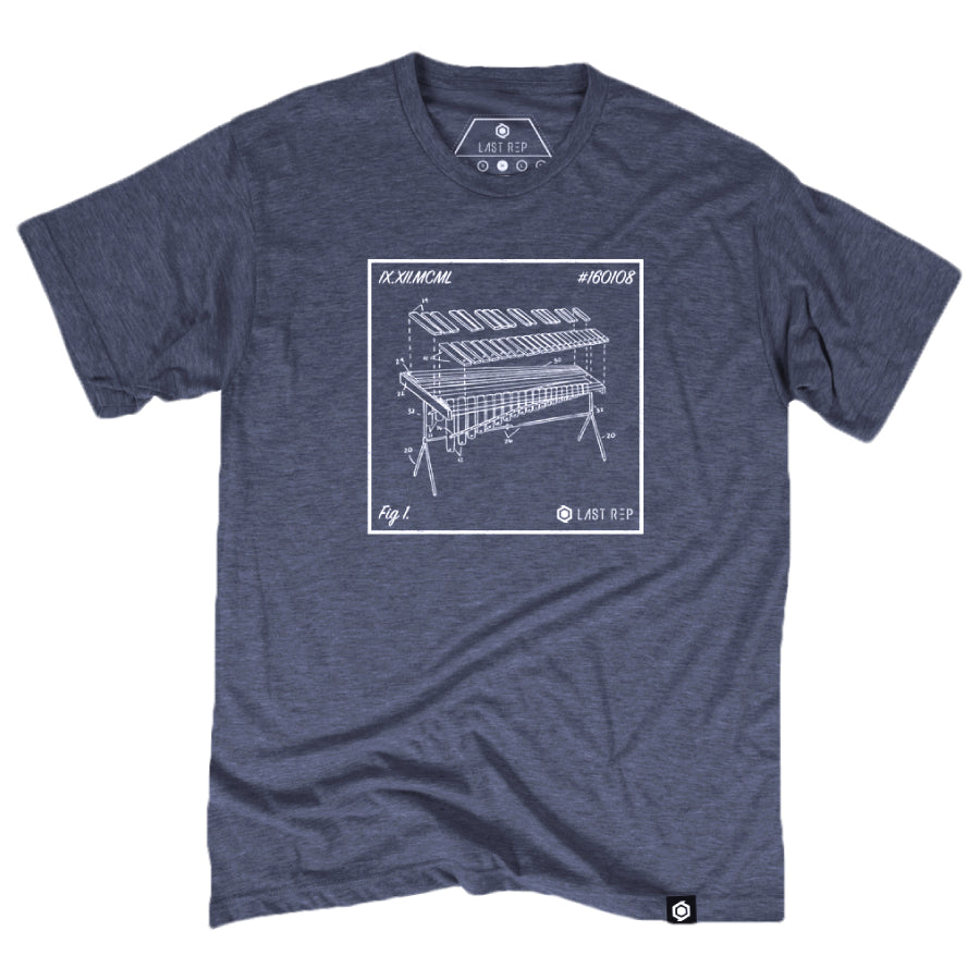 Marimba Blueprint Tee