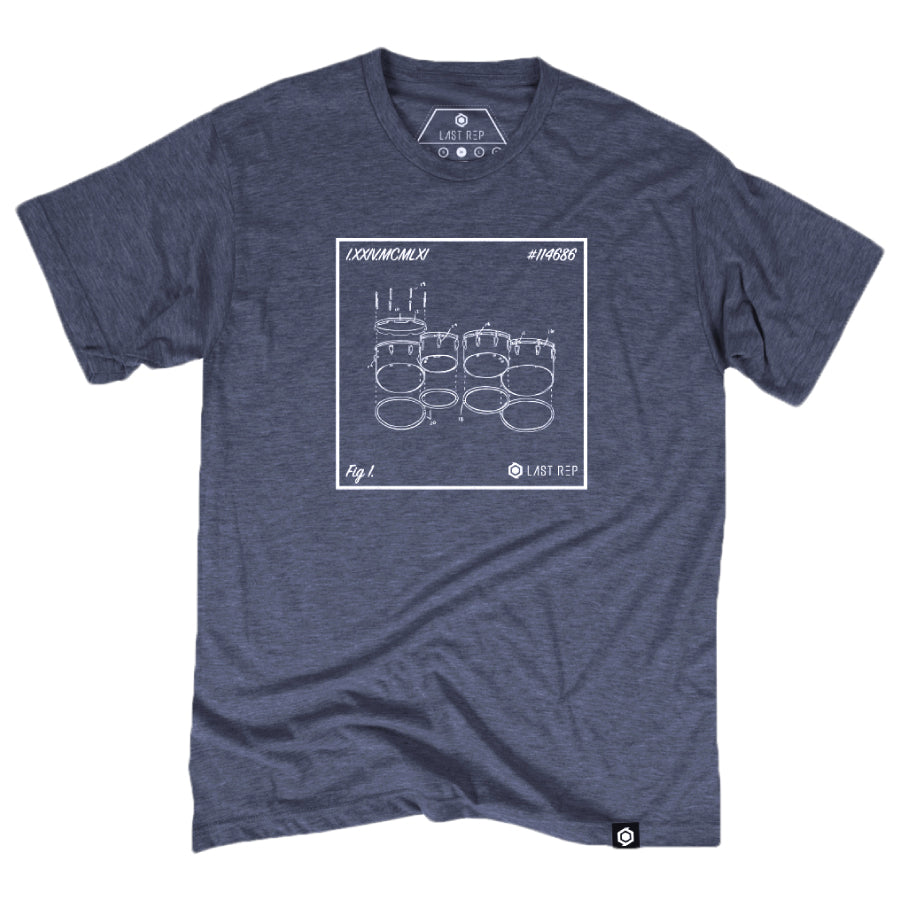 Tenor Drum Blueprint Tee