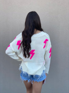 Electric Bolt Sweater