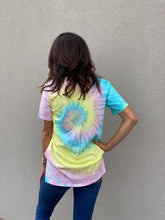 Load image into Gallery viewer, Dreamer Tie Dye Graphic Tee