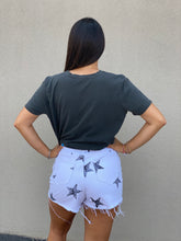 Load image into Gallery viewer, Star Denim High Waisted Shorts