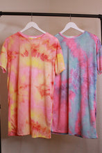 Load image into Gallery viewer, Tie Dye Boyfriend Tee