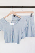 Load image into Gallery viewer, Soft Ribbed Crop Top & Short Set
