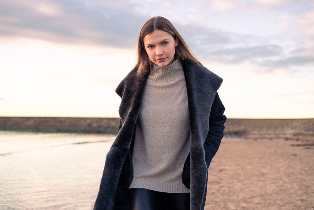Belinda Robertson Luxury Scottish Cashmere Designer. Cashmere, Loungewear and Shearlings sourced from the best suppliers around the world. Designed in Scotland