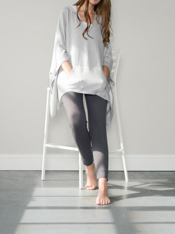 pale grey adele merino sweater