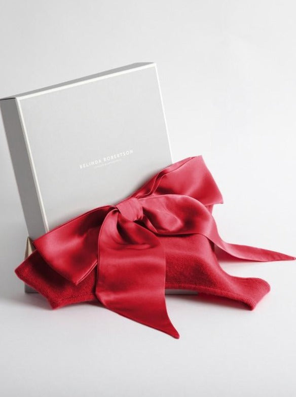 red cashmere knickers