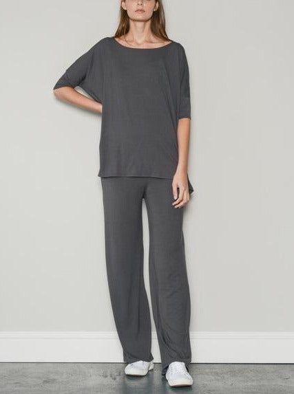 sporty loungewear trousers grey