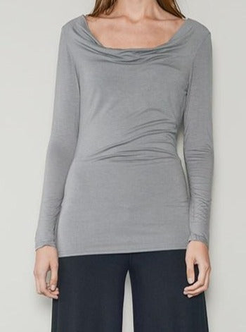 Venice Drape Neck Top