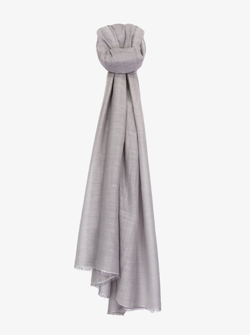 Yvette Silk and Cashmere Waterfall Stole