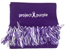Load image into Gallery viewer, Project Purple Scarf