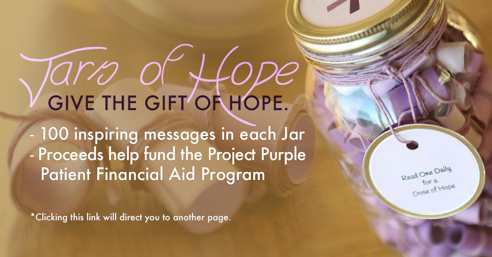 Shop Jars of Hope for an inspiring Christmas gift.