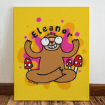Groovy Sloth Canvas