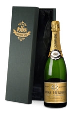 Personalised Gold Birthday Champagne