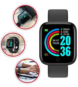 Fitness Watch Pro - Fitness Tracker, Smartwatch, Fitness Wristband, Heart Rate Monitor
