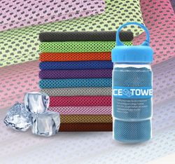 Ice Cooling Towel - Micro fiber Towel With Immediate Cooling Effect
