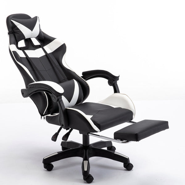 Armchair with Footrest Reclining Office Chair