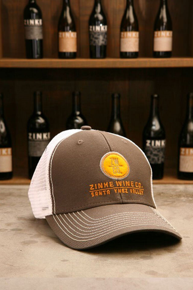 Zinke Wine Co. Trucker Hat - Gray