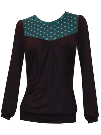 Polka Dots Casual Shirts & Tops