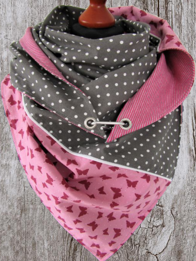 Winter Wrap Printed Scarves & Shawls