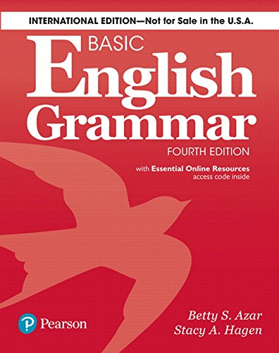 Basic english grammar - student book w/ak 4e edition with online ressources