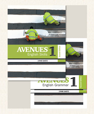Avenues 1 - Combo Skills & Grammar 2nd Edition - Books + eText + eLab