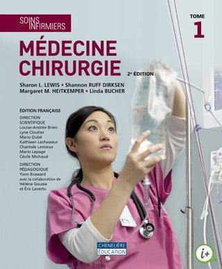 Soins infirmiers medecine chirurgie, (5 tomes) 2e edition