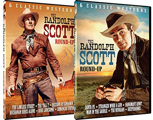 Randolph Scott Round-Up Volume 1 & 2 - 12 Film Bundle [Interactive DVD]