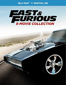 Fast & Furious-8-Movie Collection (Blu Ray W/Digital Hd)