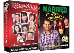 Roseanne + Married With Children Complete Series TV Bundle