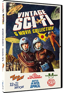 Vintage Sci-Fi Movies - 6 Movie Pack