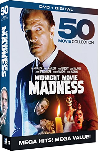 Midnight Movie Madness - 50 Movie MegaPack - DVD+Digital