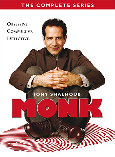 MONK: COMPLETE SERIES (32PC)