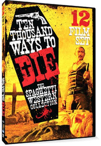 10,000 Ways to Die - Spaghetti Western Film Collection - 12 Movie Set