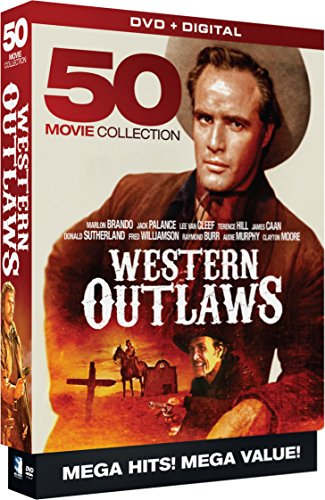 Western Outlaws - 50 Movie MegaPack (DVD)